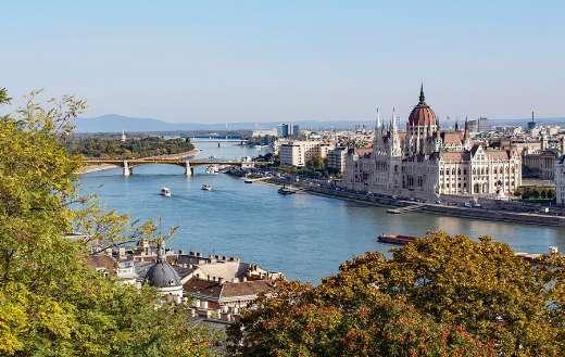 Hungary Budapest Danube City puzzle