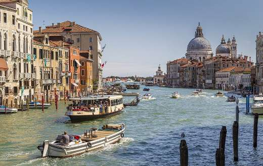 Venice grand canal Italy