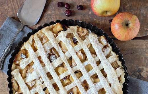 Apple pie sweet dessert cake puzzle
