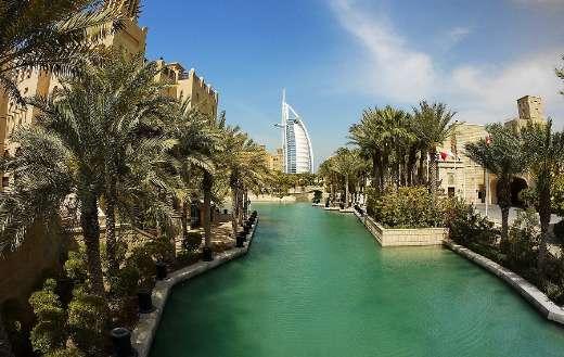 Dubai desert Al Arab