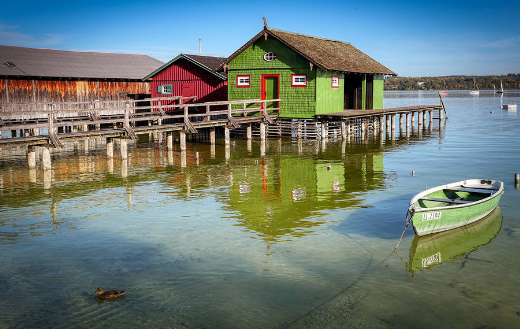 Ammersee boat house