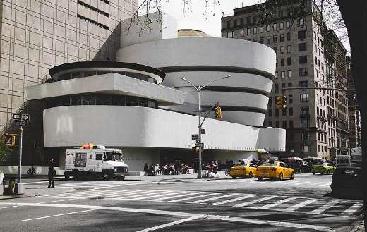 Guggenheim museum New York Usa