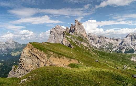 Landscape mountains peak summit online