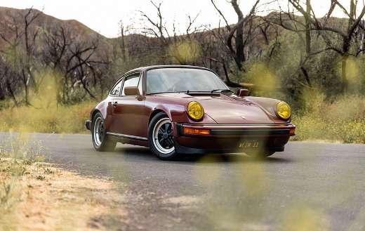 Porsche vintage classic road retro car