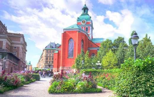 Stockholm Sweden old town architecture online