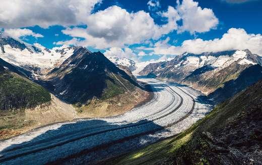 Valais Alpine mountains glacier Switzerland online