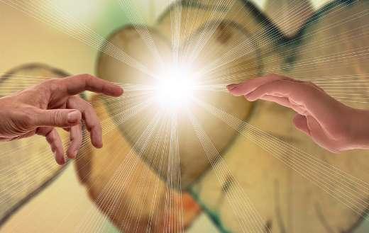 Faith love hope hands online