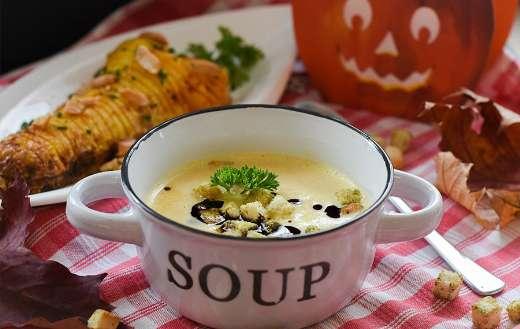 Pumpkin soup dish online