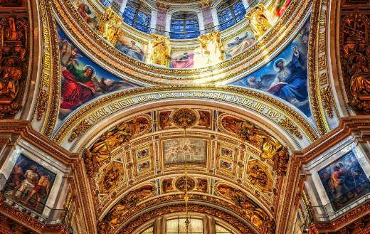 St Petersburg Isaac cathedral puzzle