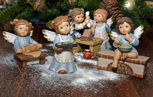 Christmas decoration angels online