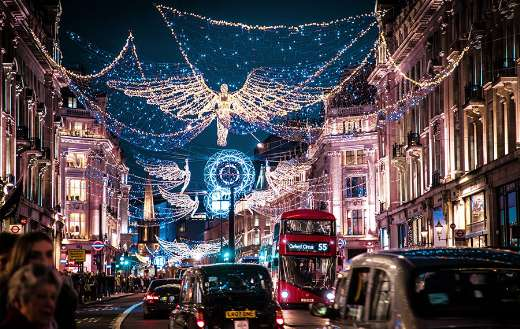 Christmas regent street London United Kingdom