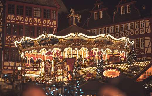 Germany Frankfurt christmas market advent
