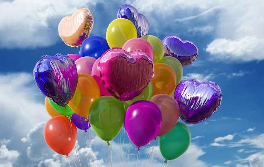 Helium air balloons
