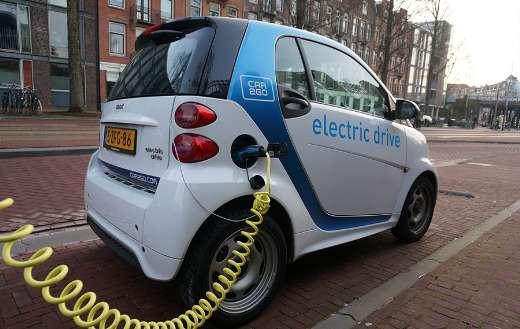 Amsterdam smartcar electric car puzzle