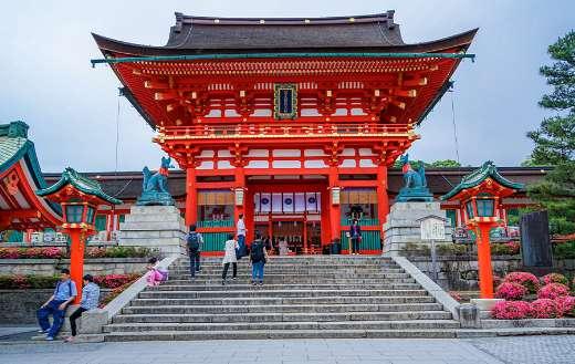 Fushimi Inari Taisha Japan online