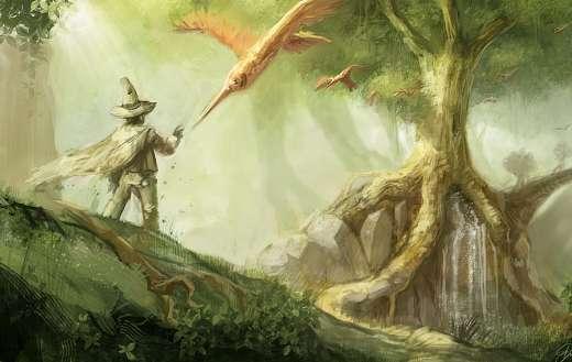 Creative commons fantasy art