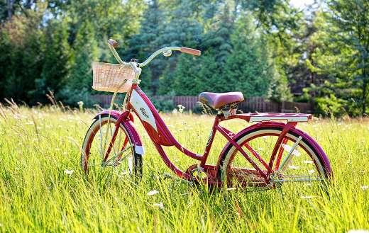 Red bike vintage online