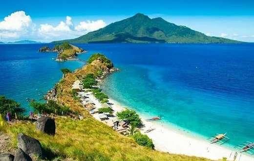 Sanbawan island Philippines