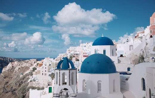 Santorini Greece online
