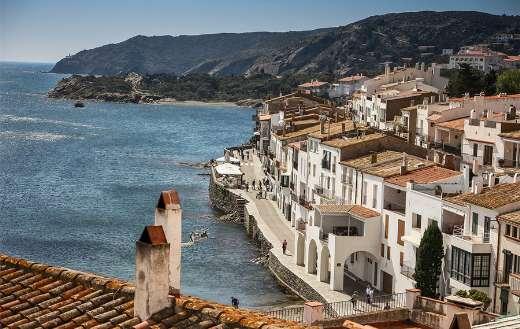 Catalonia terrace sea Costa Brava online