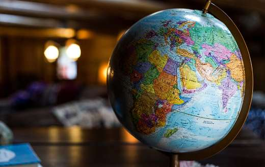 Hegemony as structural power globe