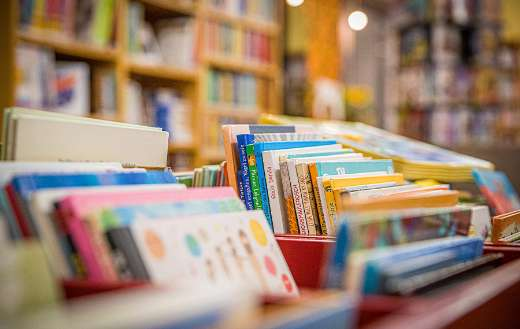 Library bookstore bookshelf book online