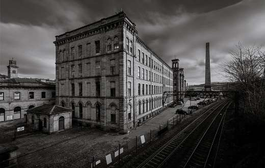Old factory building puzzle
