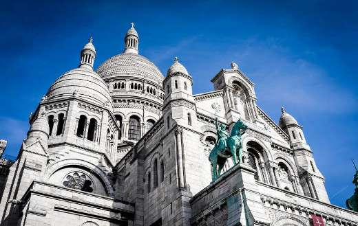 The basilica Paris France