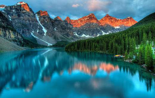 Banff national park rocky mountain Canada