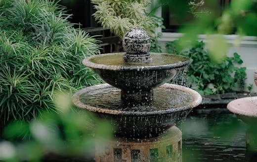 Water flow fountain online