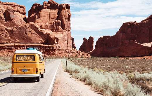 Arches national park road trip