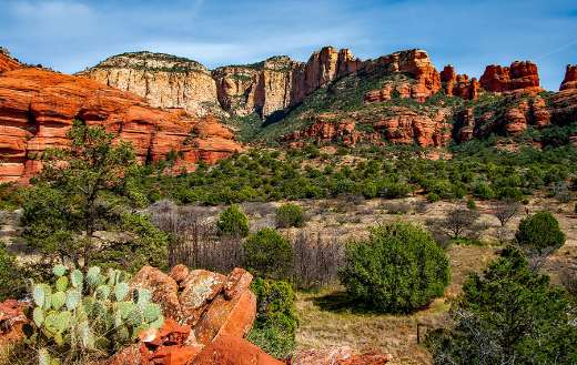 Arizona canyon landscape