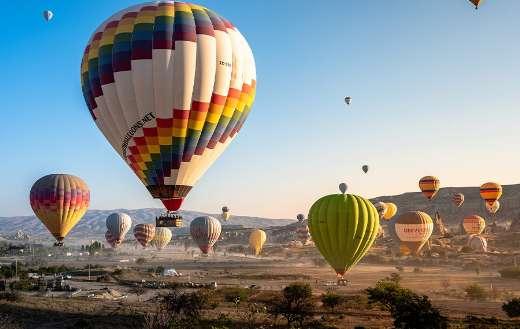 Cappadocia hot air balloon dawn sunrise rides
