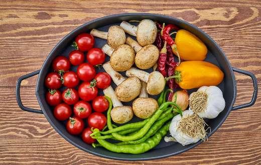 Casserole vegetables dish