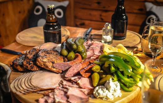 Charcuterie smoked meats puzzle