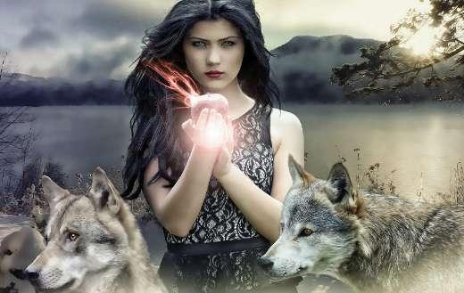 Gothic dark female fantasy