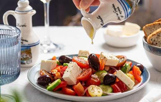 Greek healthy salad online