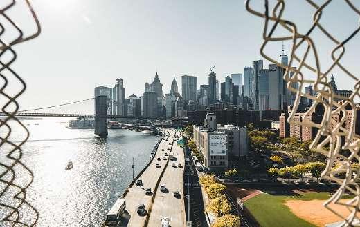 New York Brooklyn bridge river road puzzle