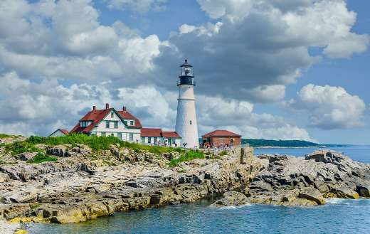 Port land light house online
