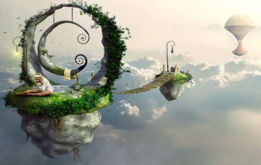 Sunlight mood dream fantasy puzzle