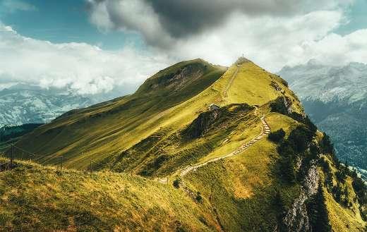 Landscape summet nature mountain Alpine puzzle