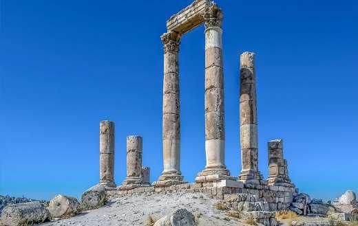 Roman temple of hercules